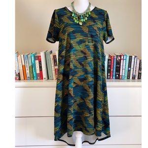 Lularoe | Green Carly Dress